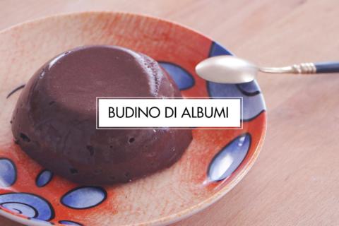 Budino di albumi al cioccolato